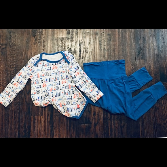 Magnificent Baby Magnetic Bodysuit and Pant Set